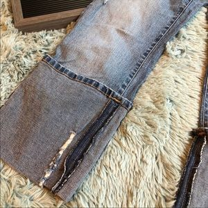 Baby Phat Jeans - Baby Phat Distressed Capri Jeans
